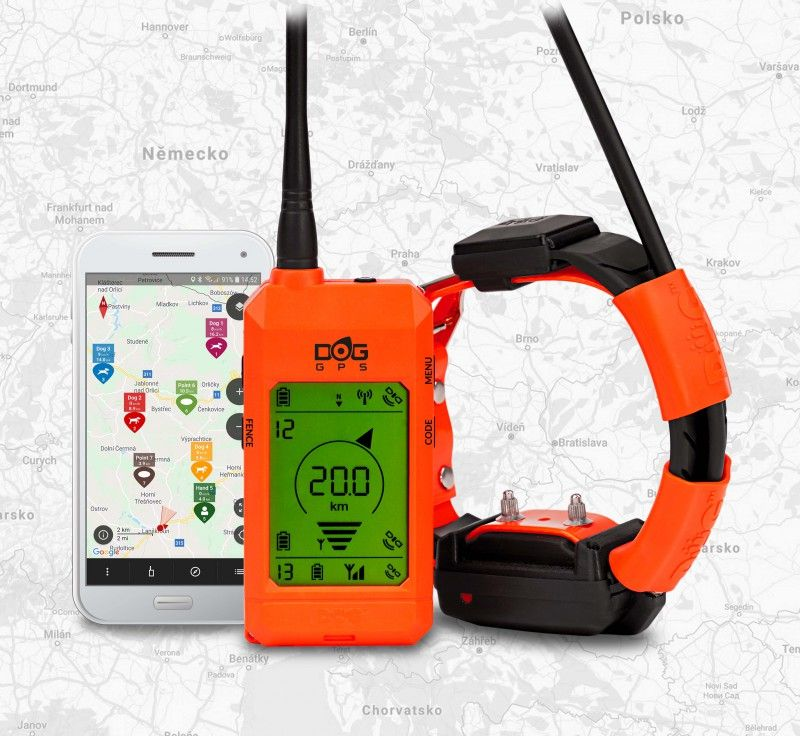 Training and tracking system DOG GPS X30T