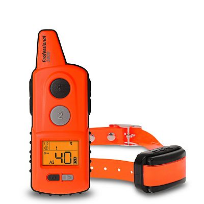 Electronic training collar d-control professional 2000 mini orange