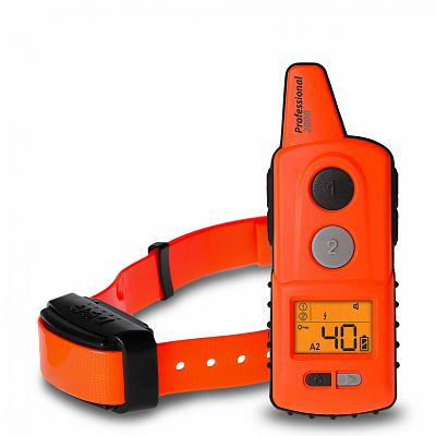 Electronic training collar d-control professional 2000 orange